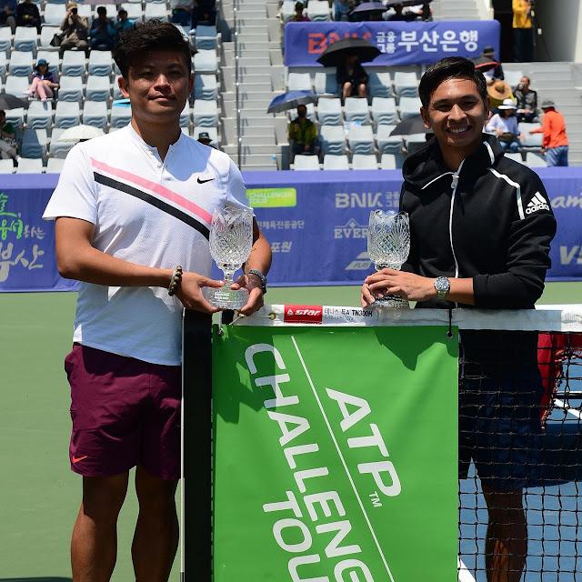 Christopher Rungkat Juara Busan Open Challenger 2019