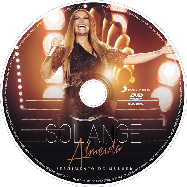 Label DVD Solange Almeida Sentimento de Mulher