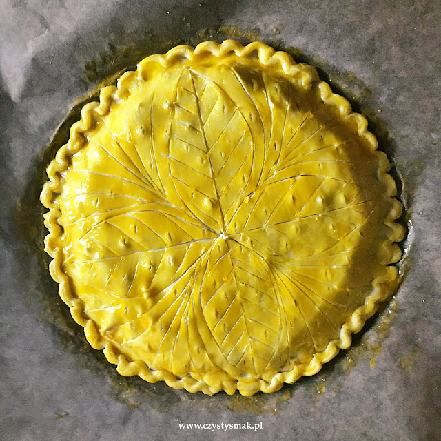 Ciasto francuskie galette des rois