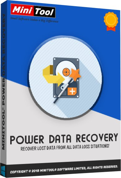 MiniTool Power Data Recovery Business Technician 8.8 poster box cover