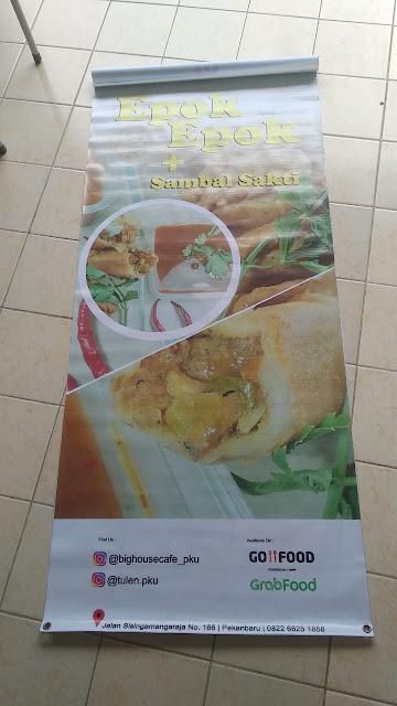 Buat X Banner Promosi Makanan