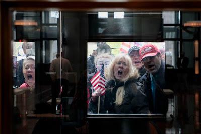 Covid Zombie Protest