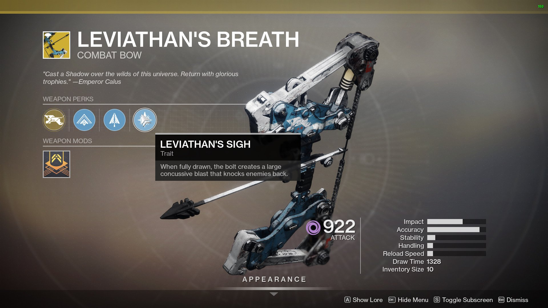 Destiny 2: only heavy bow gets masterpiece upgrade - is it worth it?