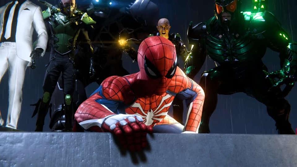 PS4「スパイダーマン」E3ゲーム...