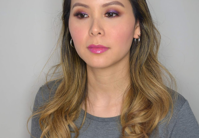 Purple Makeup Look