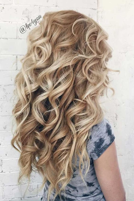 Evening Long Hair Styles Full of Glamour