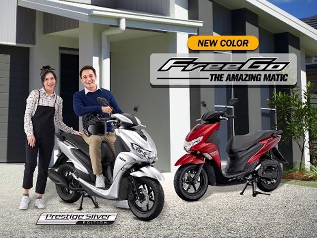 Yamaha FreeGo, Amazing Matic dengan Utilitas Fitur Modern