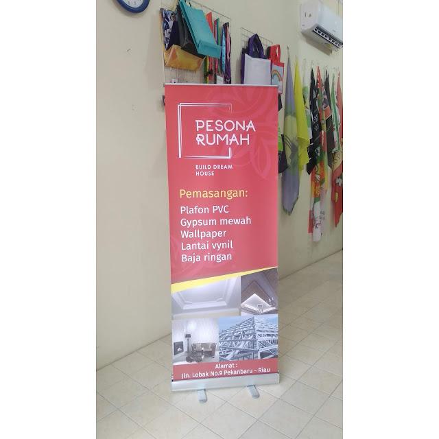 Roll Up Banner Rumah Pesona