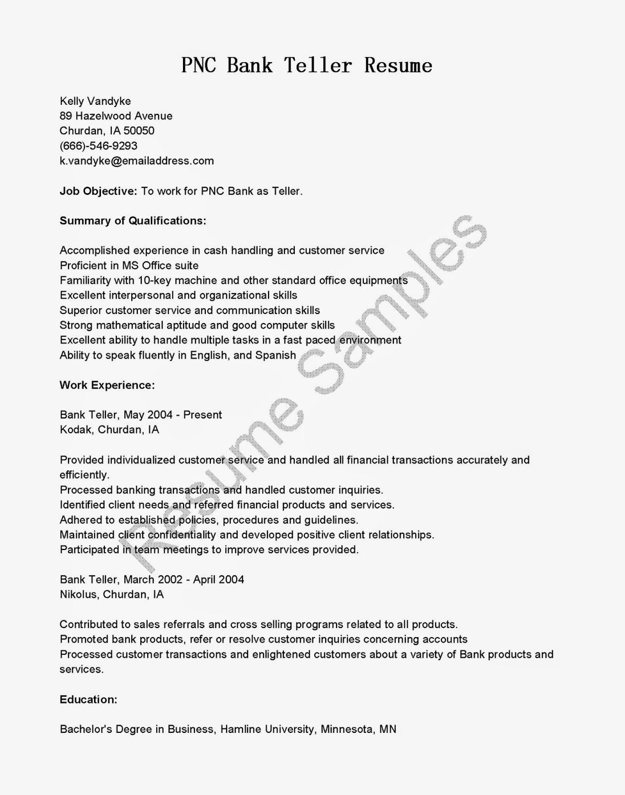 resume for teller job professional resume builder nyc cover letter database