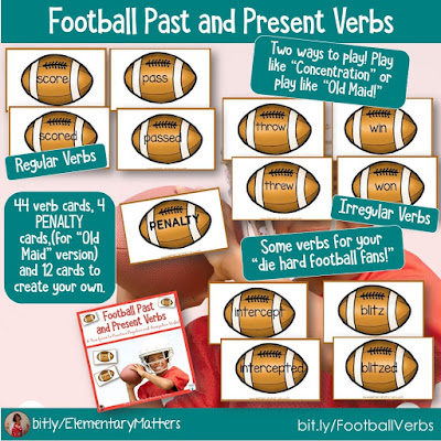 https://www.teacherspayteachers.com/Product/Football-Past-and-Present-Verbs-192586?utm_source=october%20resources%20post&utm_campaign=Football%20verbs