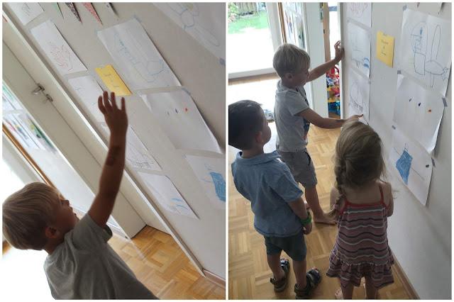 Kinderfuehrung durchs Ninjago Museum Jules kleines Freudenhaus