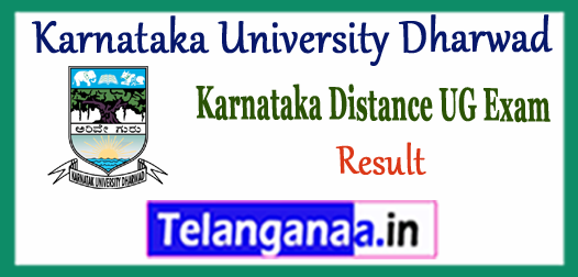 KUD Karnataka University Dharwad Correspondence Distance Part 1 2 3 Result 2017-18