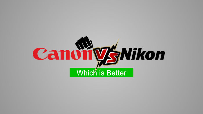 Canon vs. Nikon - Which is better - Hindi