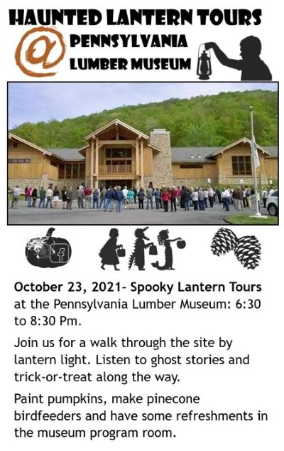 10-23 Haunted Lantern Tours, PA Lumber Museum, Galeton, PA
