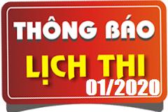 Lịch thi sát hạch lái xe ô tô B1, B2, C, D, E tháng 01/2020 tại Hà Nội