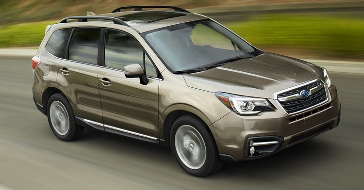 2017 Subaru Forester Gains Revised Styling And More Safety