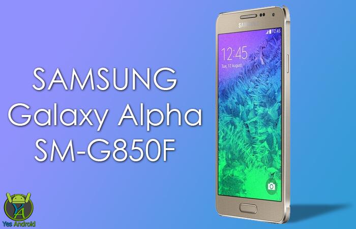 Download G850FXXS2CQA2   Galaxy Alpha SM-G850F