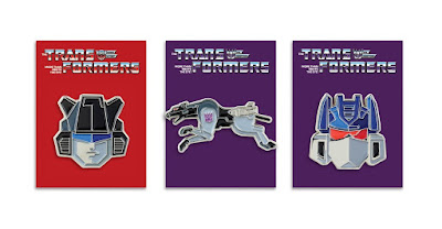 Transformers Generation 1 Portrait Enamel Pin Series 2 by Tom Whalen x Mondo