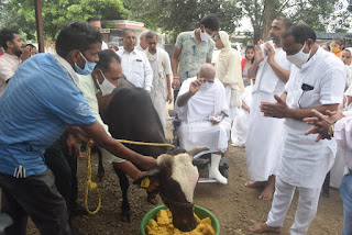 श्री मोहनखेड़ा महातीर्थ में मालवकेसरी मुनिराज श्री हितेषचन्द्रविजयजी म.सा. का 50 वां जन्मोत्सव मनाया