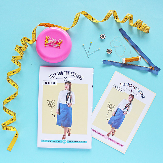 Inspiration for making the Ness skirt - sewing pattern by Tilly and the Buttons