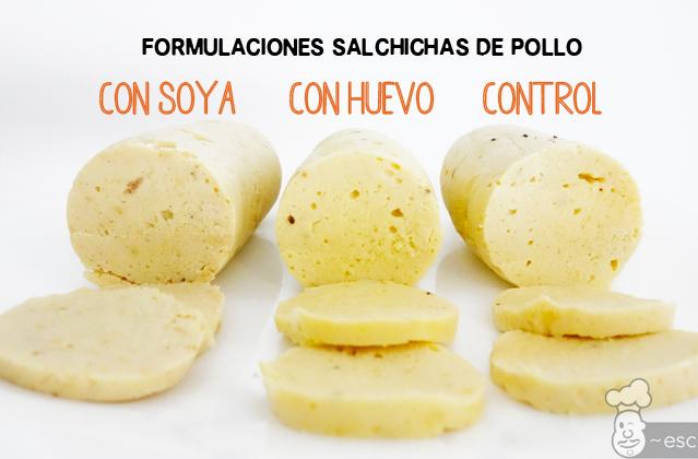 Cómo hacer salchichas de pollo caseras con 3 formulaciones diferentes