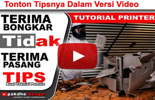 TIPS UNTUK TEKNISI PEMULA, tips teknisi printer, tips buat yang baru belajar service printer