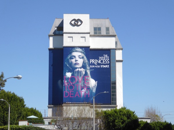 White Princess series premiere billboard