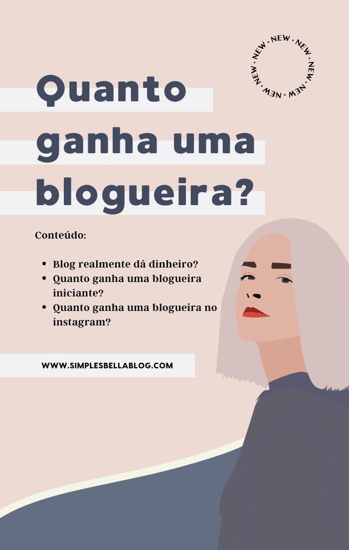 Quanto ganha uma blogueira no Brasil? Blog realmente dá dinheiro?
