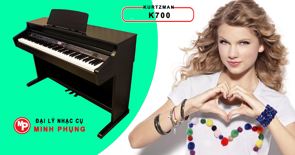 Đàn Piano Điện Kurtzman K700 - Cam Kết Giá Tốt Nhất