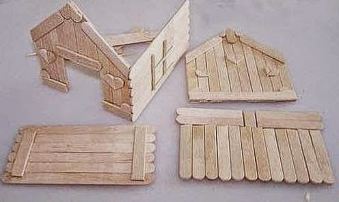 Creative Ideas Make DIY Popsicle Stick House
