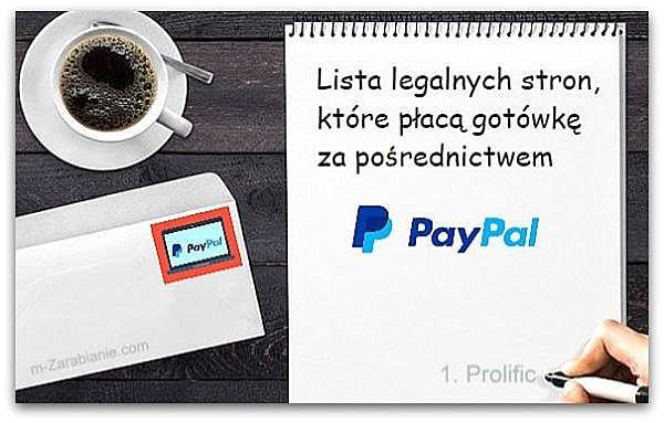 Lista TOP paneli z możliwością wypłaty na PayPal.