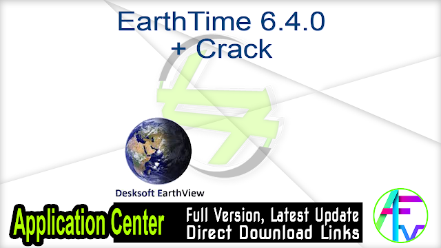 EarthTime 6.4.0 + Crack