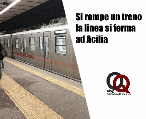 Roma-Lido, si rompe un treno: la linea si ferma ad Acilia. Caos navette