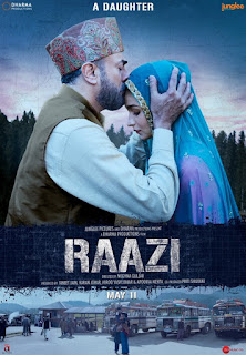 Raazi First Look Poster 1