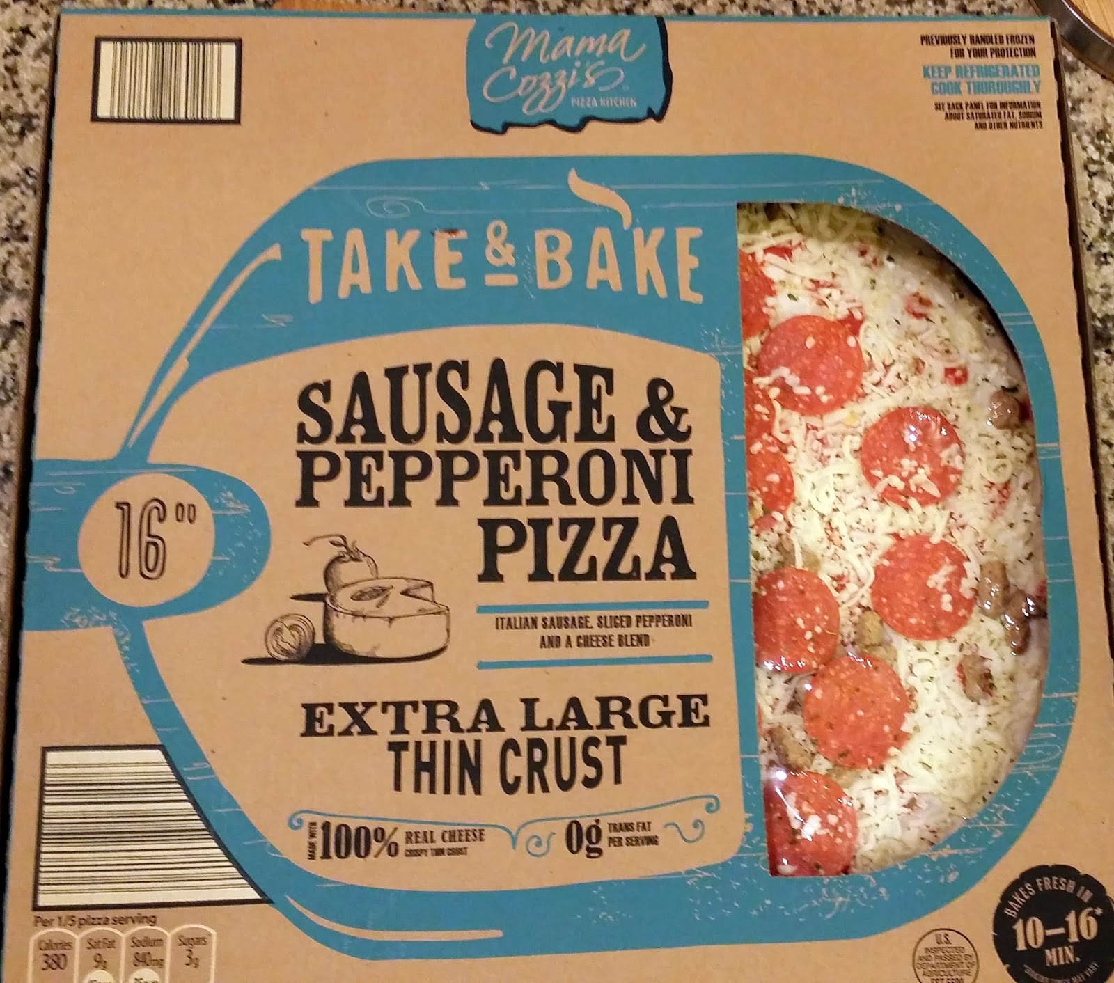 Pizza Quixote Review Mama Cozzi S Take Bake Thin Crust