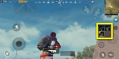 Cara memunculkan ganti scope cepat di PUBG Mobile