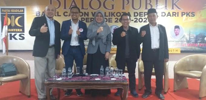 5 Balon Walikota PKS Ikuti Dialog Publik