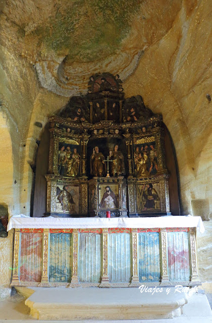 Altar de los santos Justo y Pastor