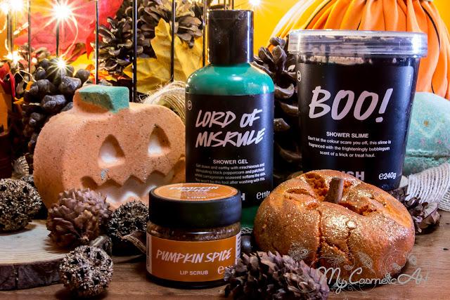 Haul de Lush: Halloween de 2019