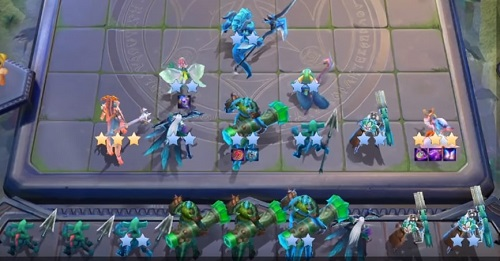 Những tướng trong vòng team nhân thú