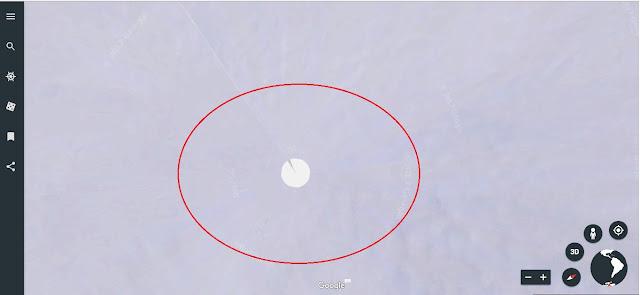 Linhas quase invisíveis revelam edição no mapa da Antártida