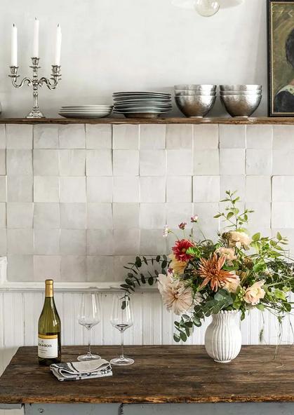 2020 Interior Design Trends Zellige Tiles