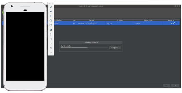 AVD Android Emulator