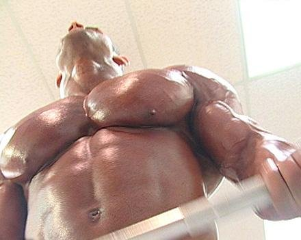 male pecs and biceps