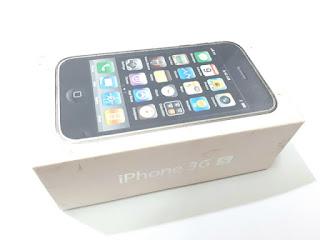 Dus Buku Ponsel iPhone 3GS Box Mulus