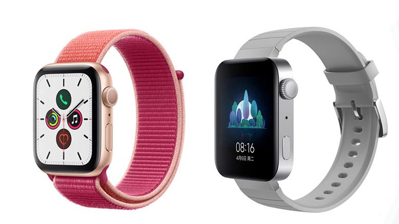 Apple Watch مقابل Mi Watch