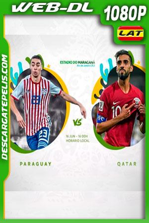Paraguay vs Qatar Copa América 2019 WEBL-DL 1080p Latino