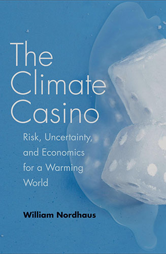 "Interesting book on intersection between global warming and economics (Source: W. Nordhaus, ""The Climate Casino"")"