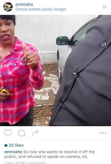 Comedian Ominiaho arrests OAP Gracia for alleging he blackmailed her
