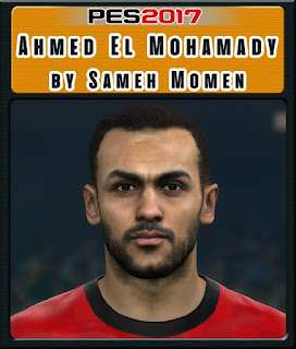 PES 2017 Faces Ahmed Elmohamady by Sameh Momen
